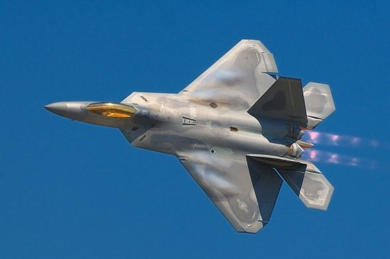 F22A Raptor, courtesy Rob Shenk and Patcard