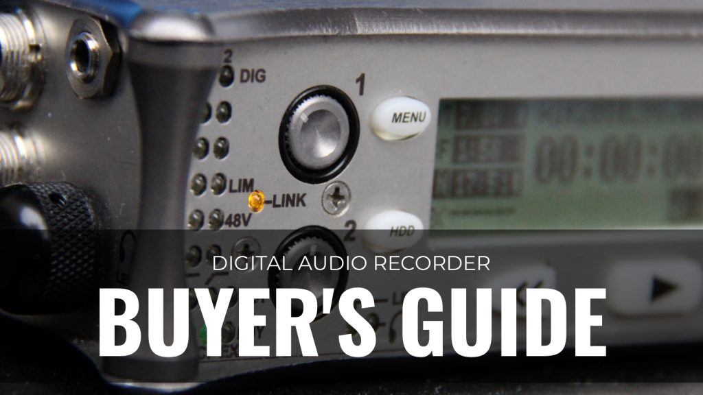Gear Digital Audio Recoder Buyers Guide v2
