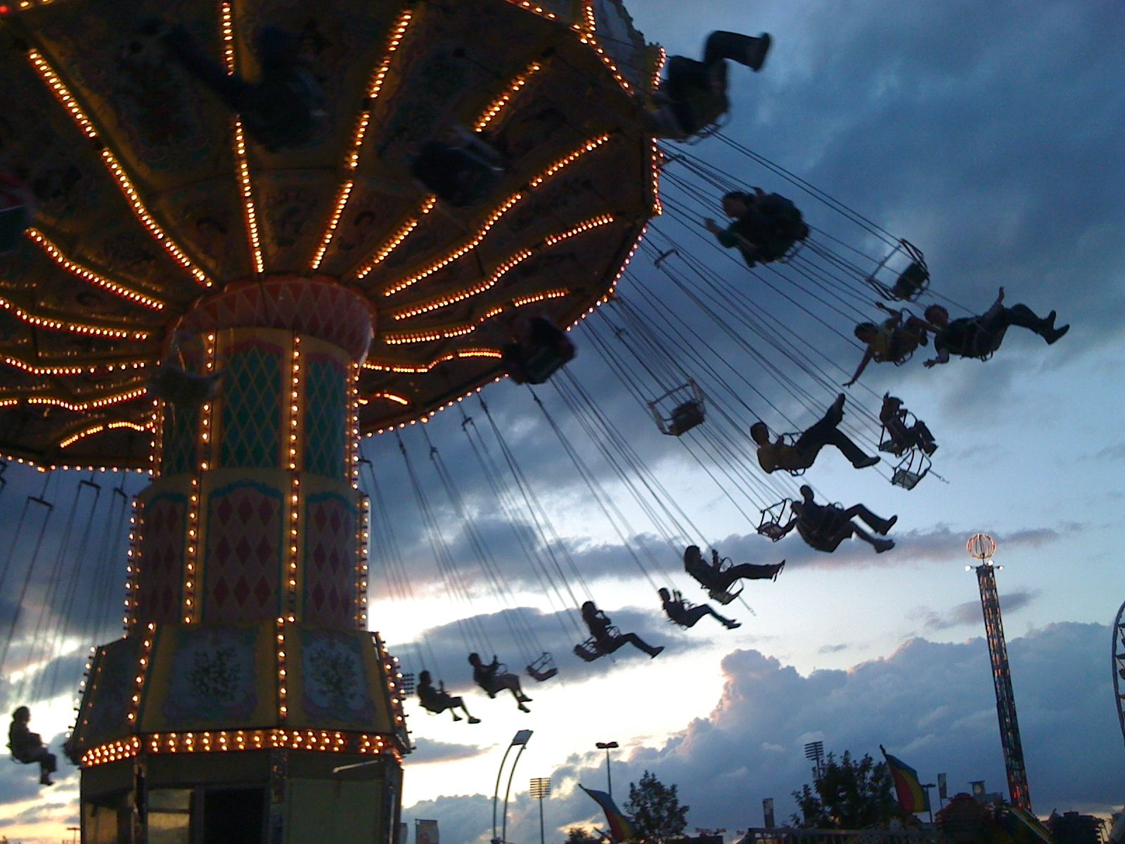 CNE Ride: Swing Ride