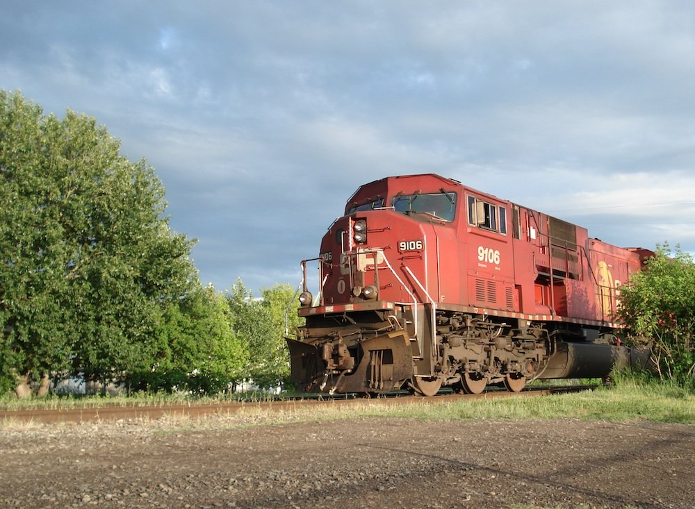 EMD SD90 43MAC Freight Train
