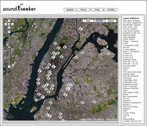 soundseeker Soundmap