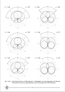 Neumann 191 Polar Patterns