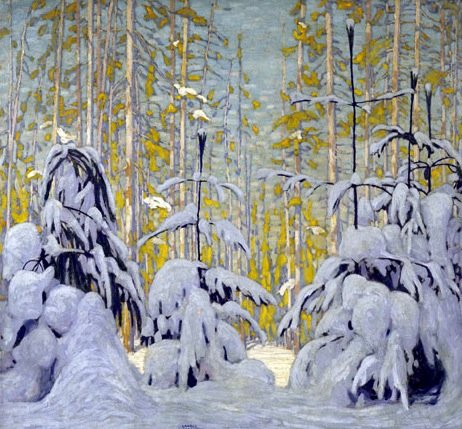 Winter Woods by Lawren Harris