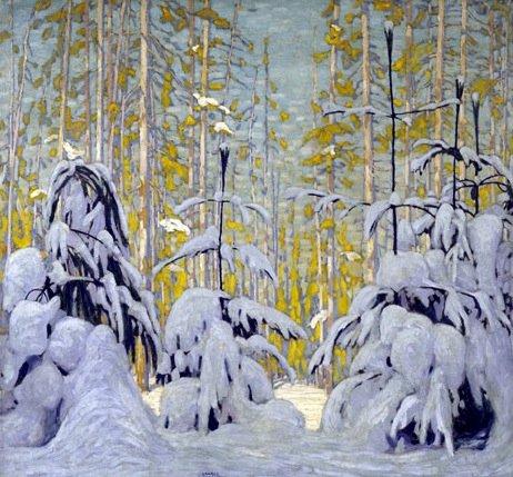 Winter Woods by Lawren Harris