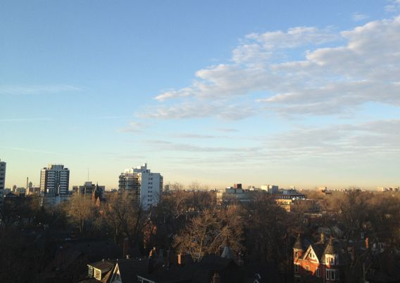 Toronto Skyline at Dawn