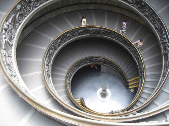 Rome Vatican Stairs