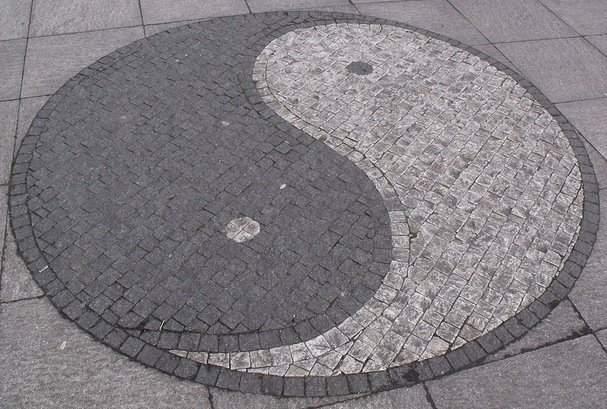 Yin and Yang in Stone