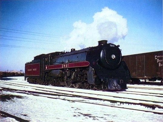 Royal Hudson H1e class 4-6-4 steam train