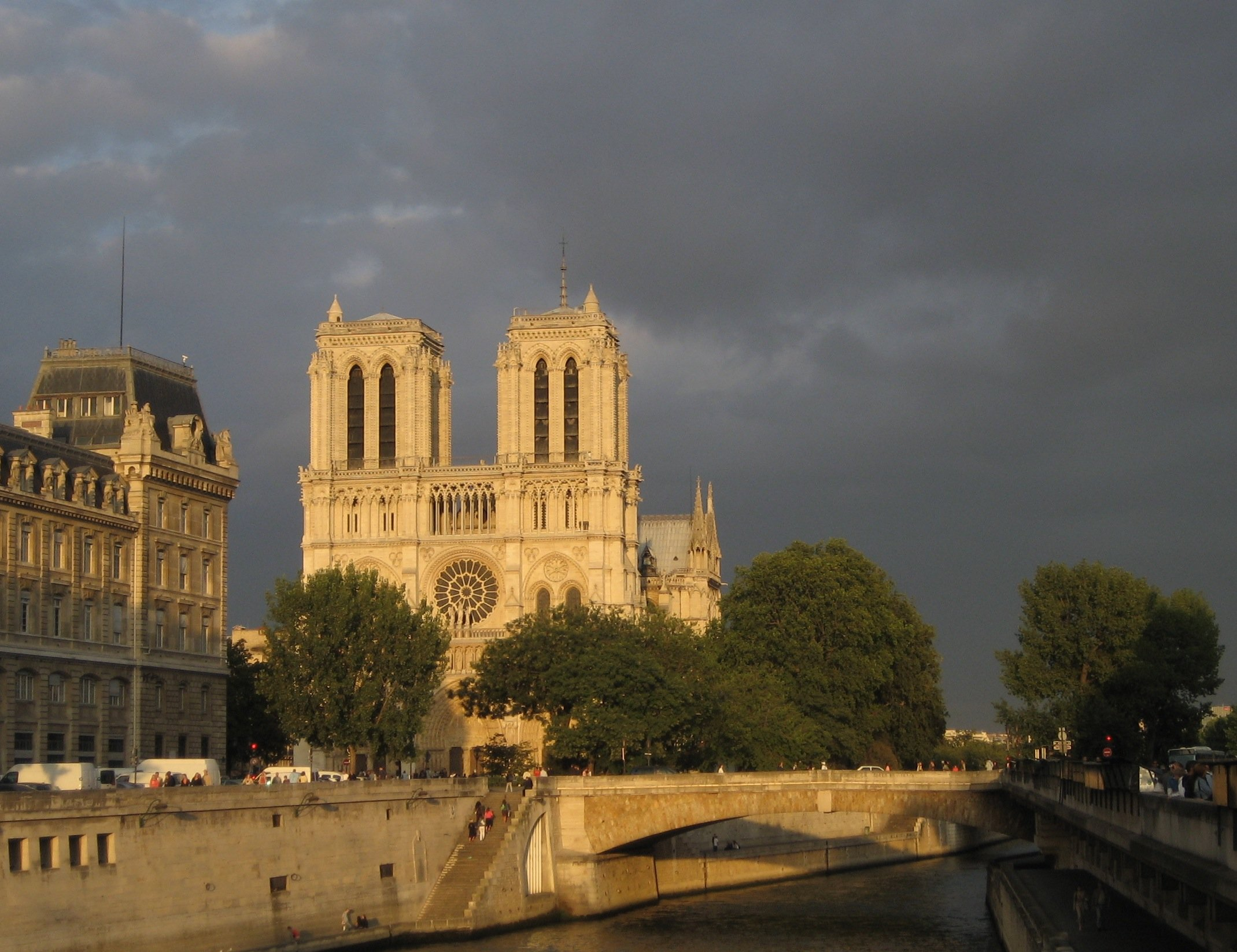 Notre Dame After the Storm