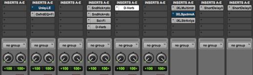 Pro Tools Mix Desk