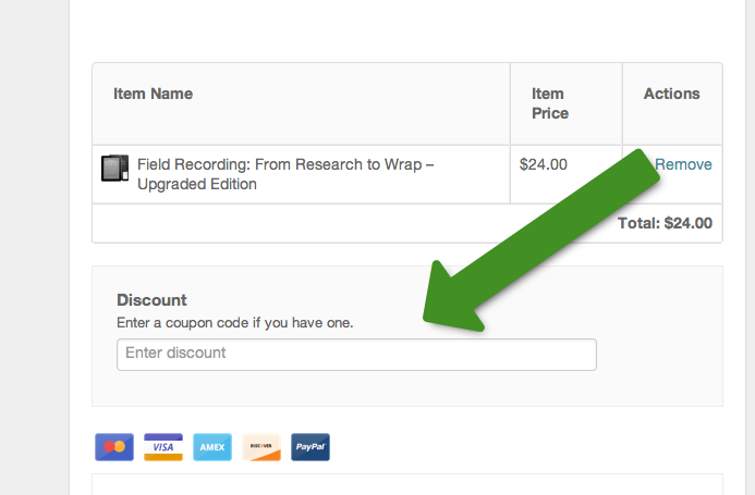 how to use a discount code book depository