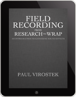 Field Recording From Research to Wrap iPad Plain