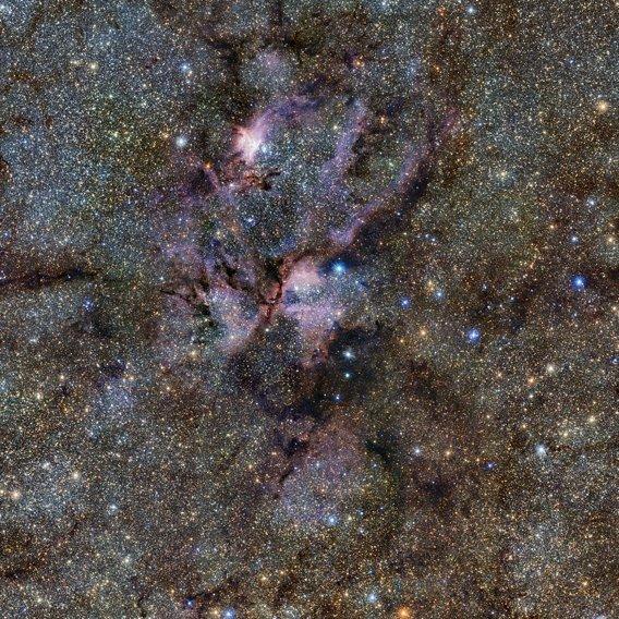 The Lobster Nebula, courtesy ESO