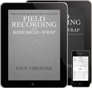 Field Recording Book Pack