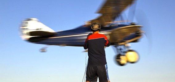 Rob Nokes Recording Plane