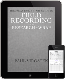 Field Recording From Research to Wrap Hybrid, Small