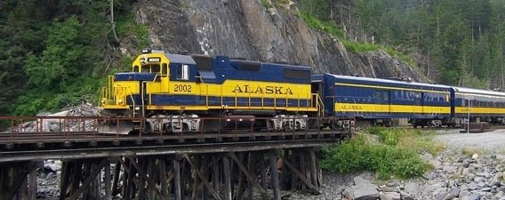 Alaska Train, courtesy Ron Reiring