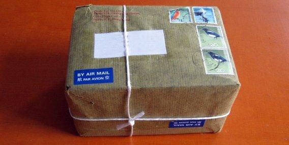 Package! courtesy lemonhalf