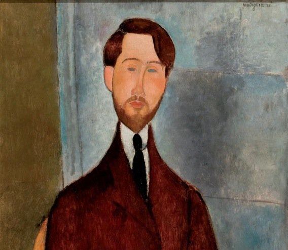 Modigliani, Portrait of Leopold Zborowski, 1917-Small