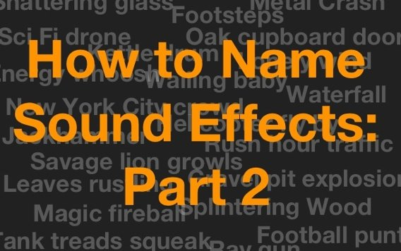 How to Name Text 2