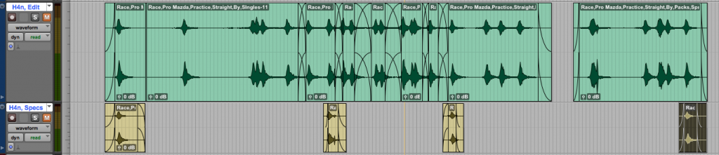 Tracks Split Out