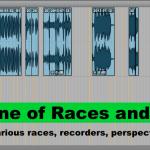 Original track layout
