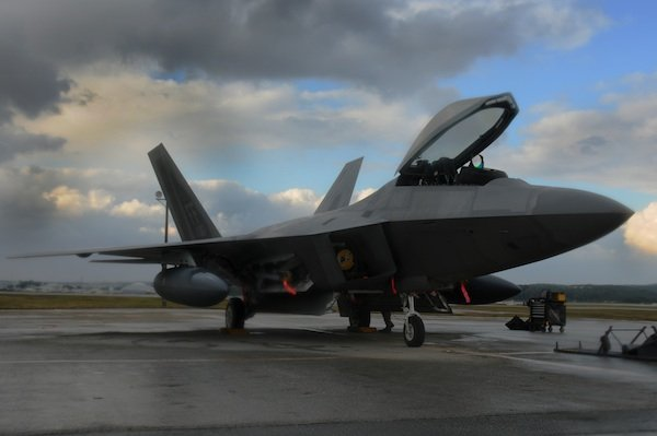 Largest deployment of F-22s under way