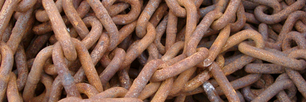 Rusty Chains courtesy Creativity 103