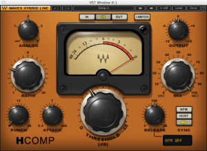 Waves H-Comp Plug-In