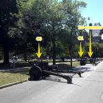 Howitzer arrangment (rear view)