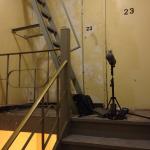 Gear in 23rd Floor Stairwell