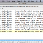 3 How to Batch Rename Sound Files 18 - BAT file w directory