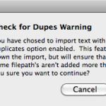 Soundminer duplicate files notice