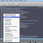 Soundminer rescan menu item