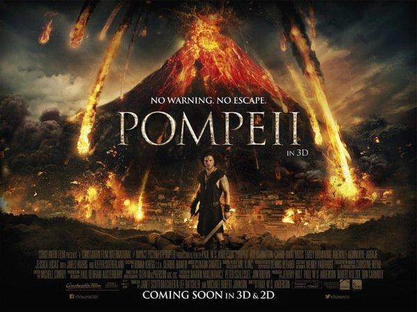 Pompeii Film Poster