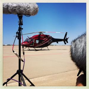 Helicopter, courtesy Rene Coronado