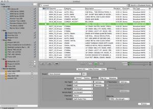 Library Monkey Pro results page and sidebar organization