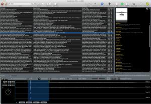 Soundminer v4 Pro search results and waveform selection