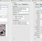 TwistedWave Metadata Options