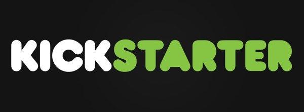 Kickstarter Logo, Black