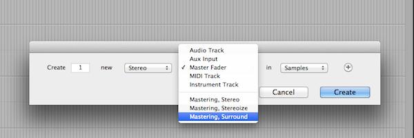 Add track preset