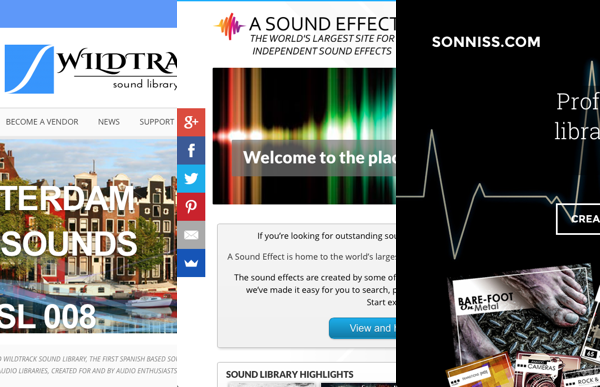 Sound Effects Distribution Websites