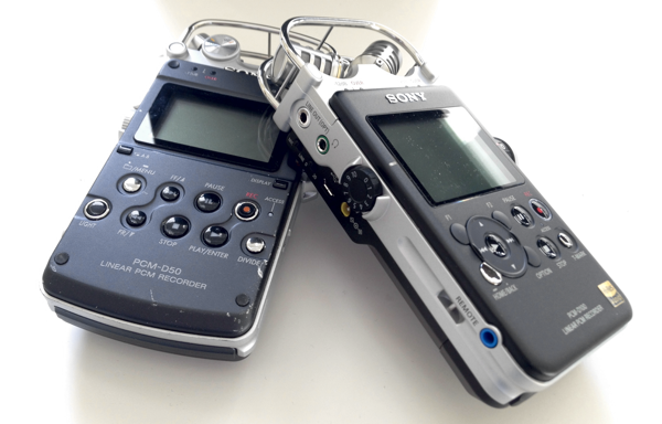 Sony PCM-D50 and D100 Small