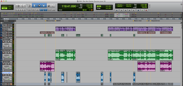 Pro Tools Mastering Session