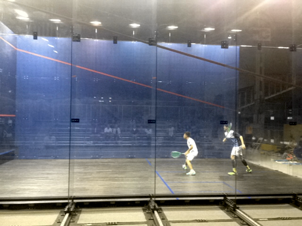 Pan Am Games squash show court