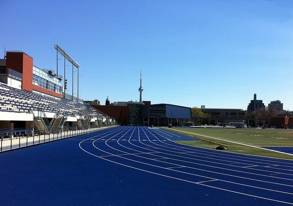 Varsity Stadium, University of Toronto, courtesy B Sutherland