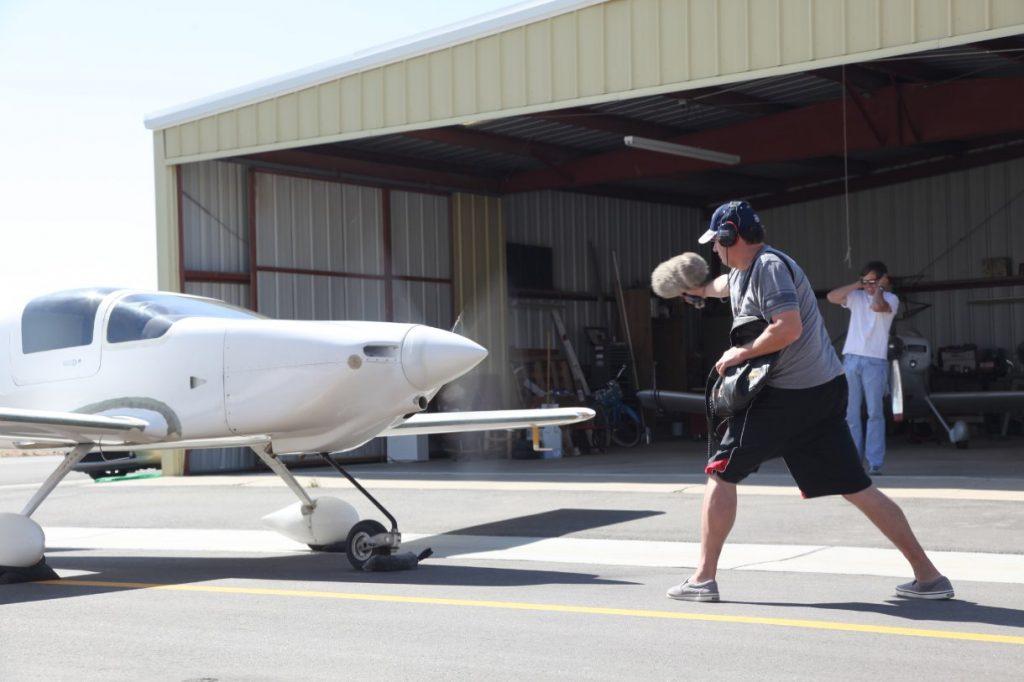 Recording faux propeller doppler bys