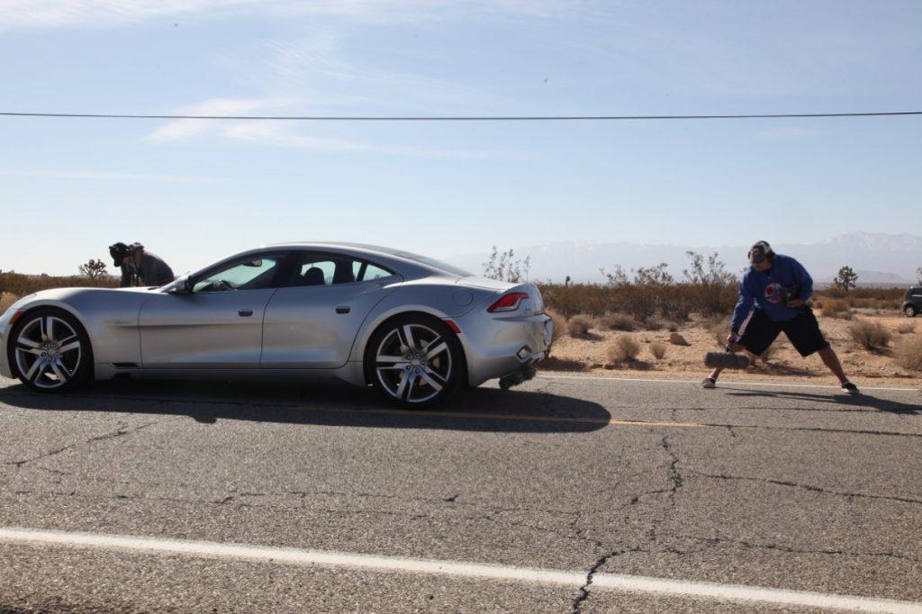 Recording cars