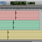Aligning field recordings by start time