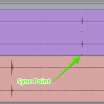 Pro Tools sync point